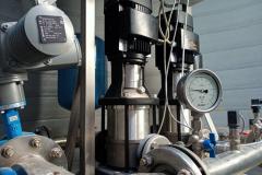 Zestaw pompowy i urządzenia hydroforni
