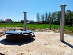 Trwają prace przy budowie nowej hydroforni