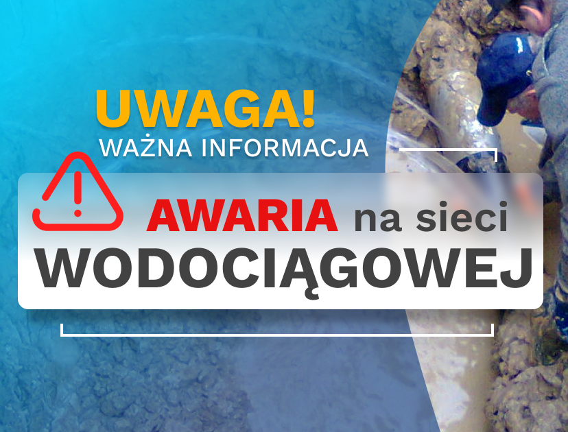 UWAGA: przerwa w dostawie wody – Zabrzeg