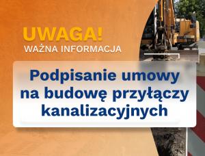Budowa podłączeń budynków do zbiorczego systemu kanalizacyjnego na terenie Gminy Czechowice- Dziedzice